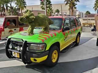 Jurassic Park SUV