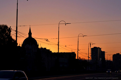 street city sunset urban black colors beautiful night nikon sarajevo bosnia fine arts herzegovina academy alu d3100 one7 blackone7