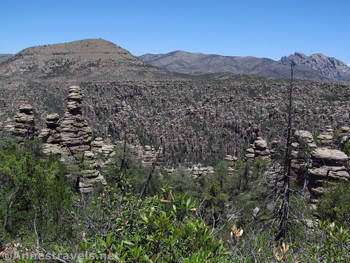 Nice view from the Heart of Rocks Trail, Chiricahua National Monument, Arizona