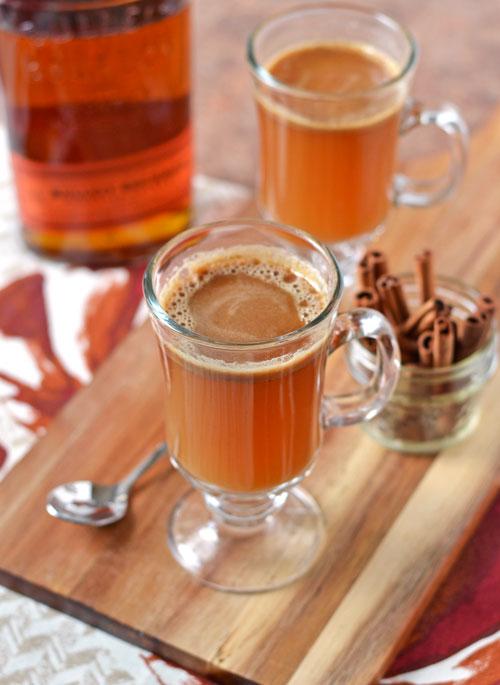Hot Buttered Bourbon
