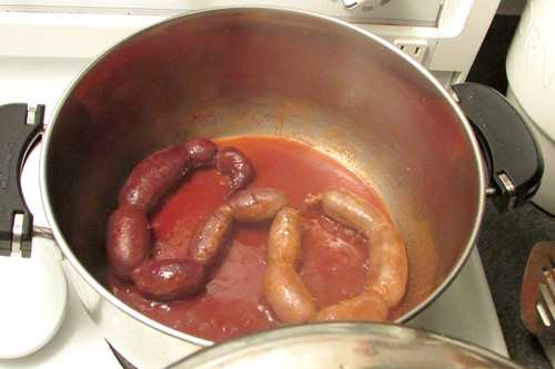 Homemade Linked Sausages Using KitchenAid's Sausage Stuffer