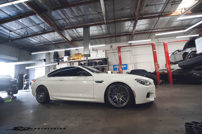 2014 BMW M6 Competition Package Fitted with H&R's & Forgestar's