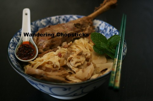 Mi Ga Tay Tiem (Vietnamese Egg Noodle Soup with Chinese 5-Spice Turkey) 2