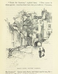 """British Library digitised image from page 223 of """"The Posthumous Papers of the Pickwick Club ... with notes and numerous illustrations. Edited by Charles Dickens, the younger. (The Jubilee edition.)"""""""