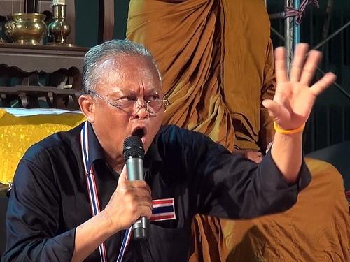 Thủ lĩnh phe biểu tình Thái thề ngăn chặn tổng tuyển cử