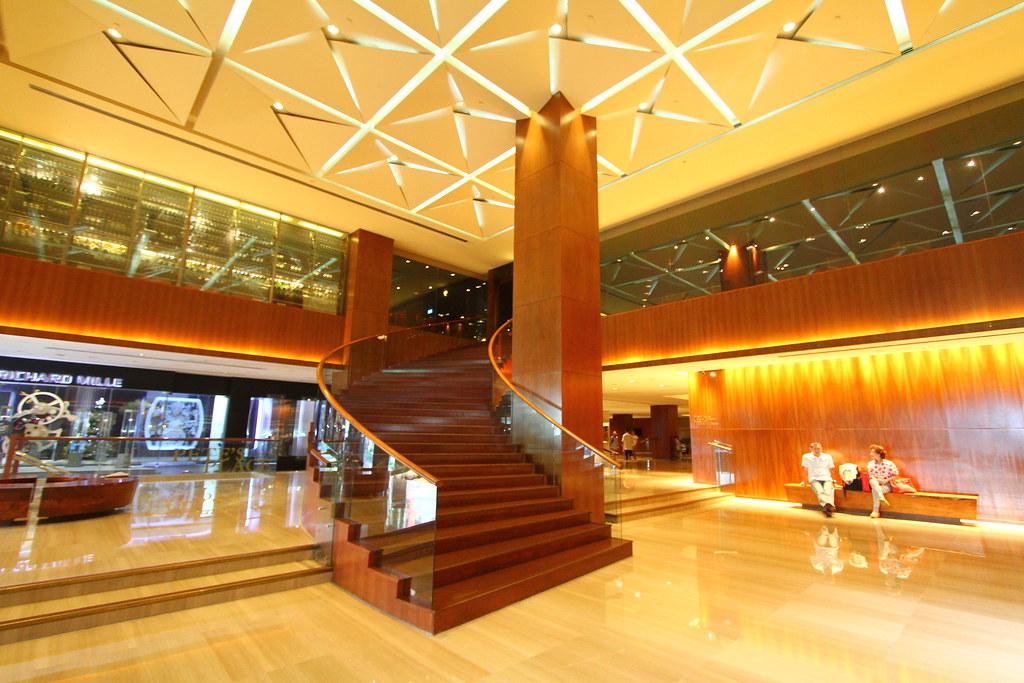 新加坡君悦酒店内部