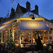 UK - Oxford - Gee's Restaurant at dusk by Darrell Godliman