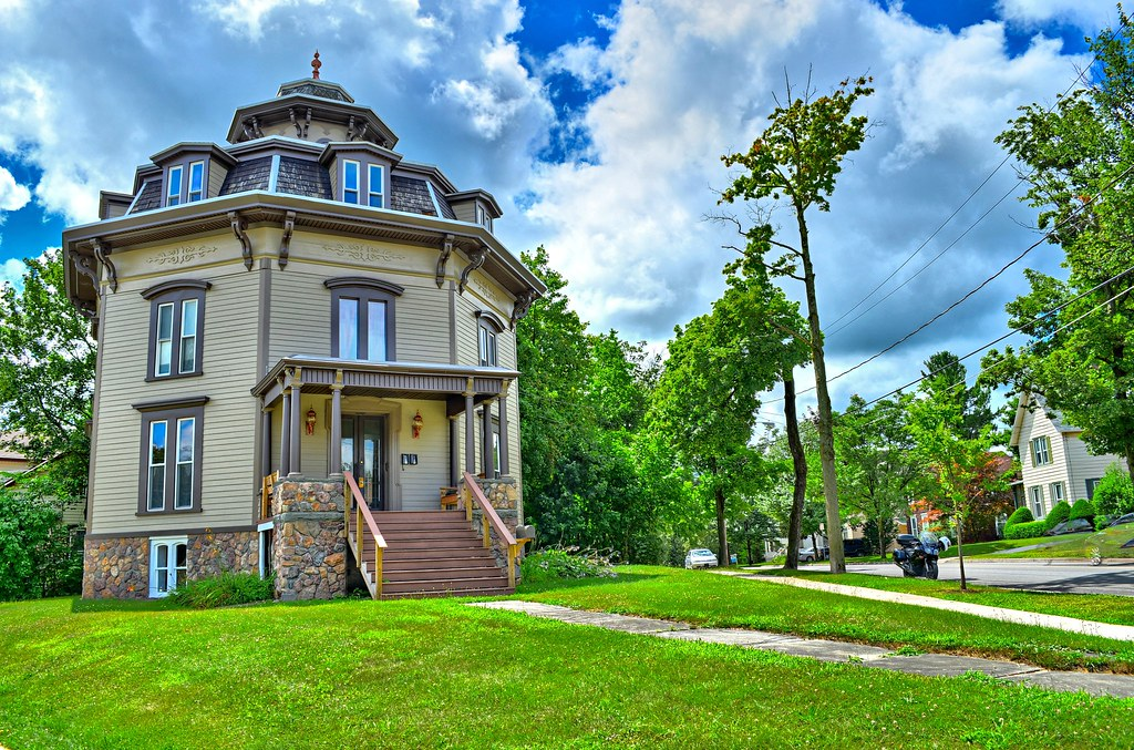 Octagon House - Grand St - Oneonta NY