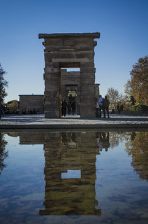 temple of debod.. madrid spain