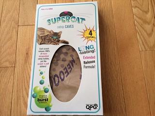 Quaker Pet Group SuperCat Catnip Caves and Crumples