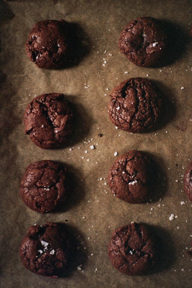 tartine's salted chocolate rye cookies (yossy arefi)