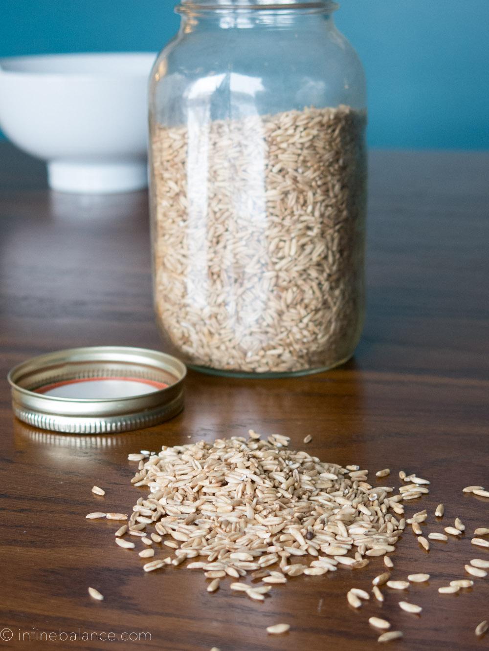 raw whole oat groats