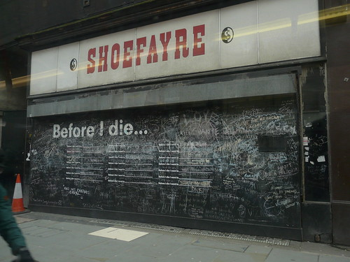 'Before I Die' by Candy Chang, Borough Hight Street