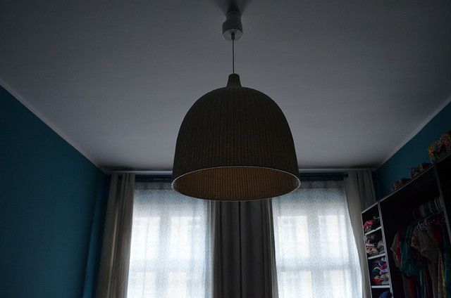 berlin apartment bedroom light and curtains