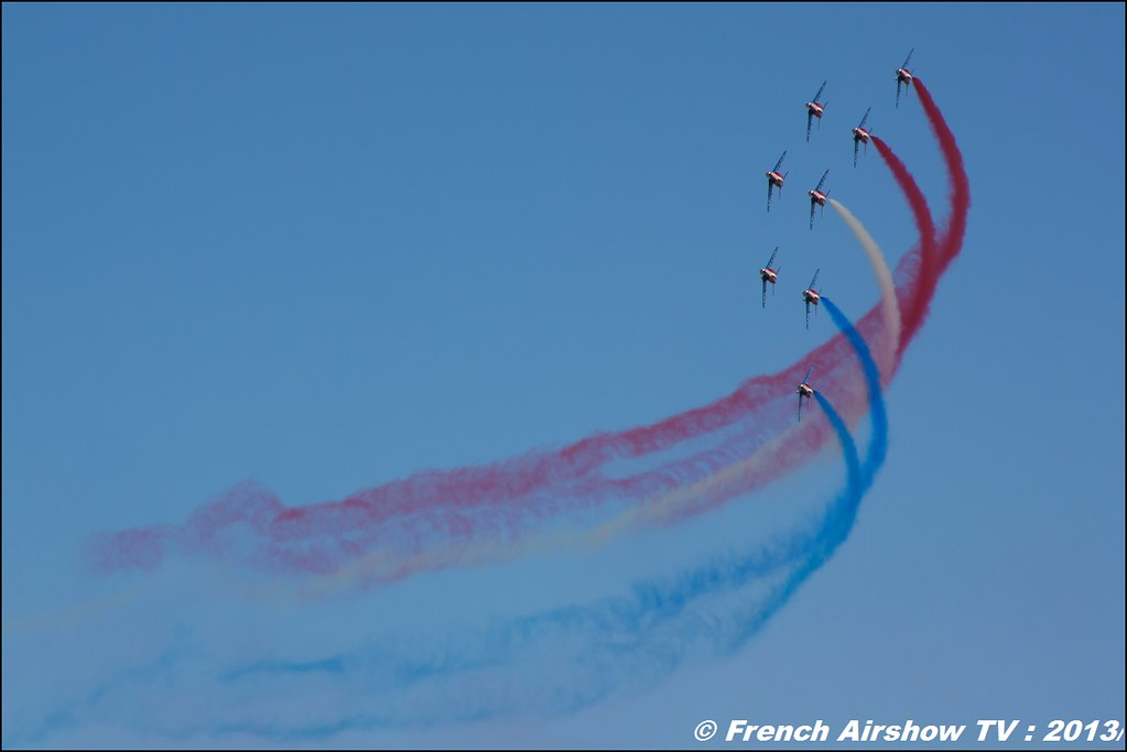 60 ans Patrouille de France , Meeting Aerien 2013