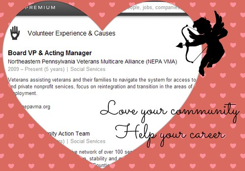 Love your community help your career