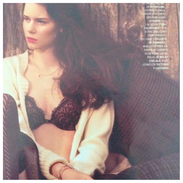 moda en la revista Mujer hoy con joyas Gemmasu.