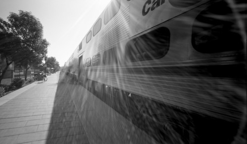 Train Pinhole