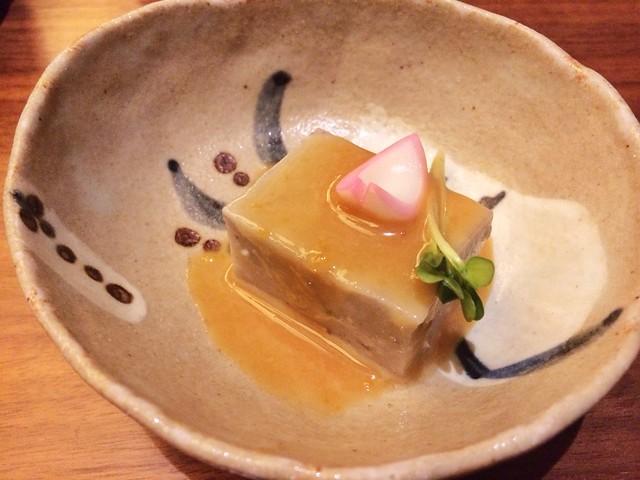 Sesame Tofu, Keyaki, Pan Pacific Hotel