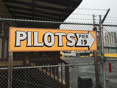 Pilots sign