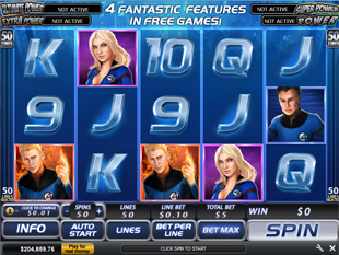 Fantastic Four 50 Lines Slots - Play Online or on Mobile Now