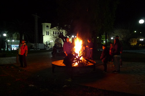 Carnival Bonfire - Sparta, Greece