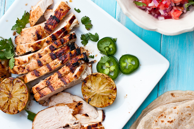 Tequila Lime Chicken Fajitas