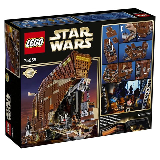 LEGO Star Wars 75059 - Sandcrawler UCS - BoxArt
