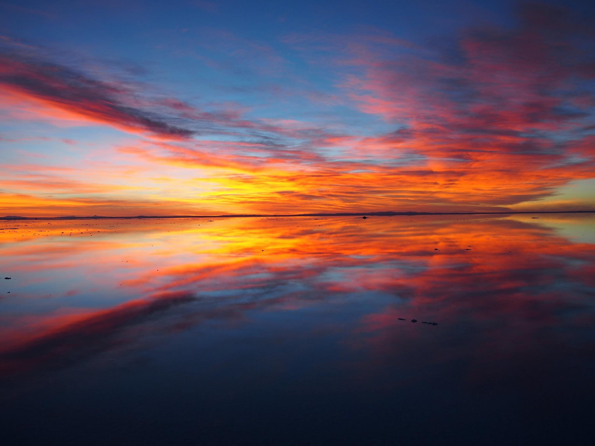 Sunrise, Salar de Uyuni