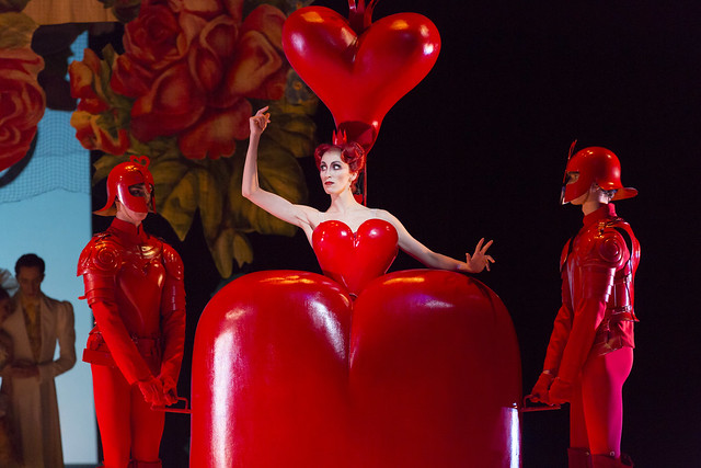 Itziar Mendizabal as the Queen of Hearts in Alice's Adventures in Wonderland, The Royal Ballet © ROH / Johan Persson 2013