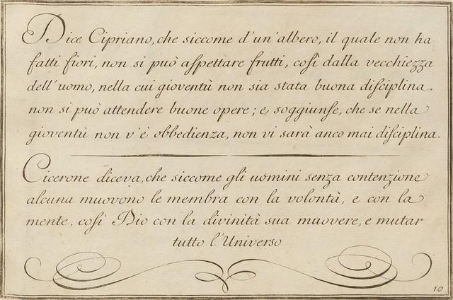 La penna da scrivere - Francesco Polanzani, 1768 i