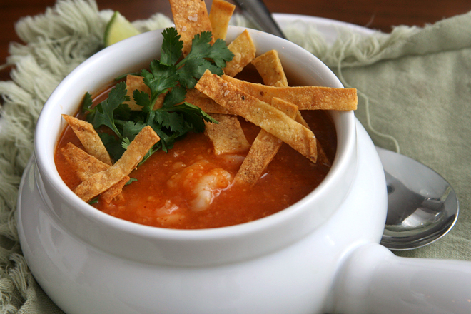 shrimp tortilla soup 4