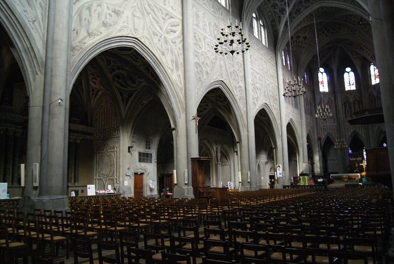 Nef de la cathédrale Saint-François-de-Sales