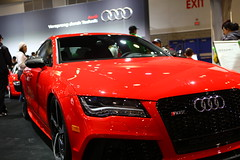 automobile(1.0), automotive exterior(1.0), audi(1.0), exhibition(1.0), executive car(1.0), audi a7(1.0), family car(1.0), wheel(1.0), vehicle(1.0), automotive design(1.0), auto show(1.0), audi sportback concept(1.0), bumper(1.0), land vehicle(1.0), luxury vehicle(1.0), sports car(1.0),