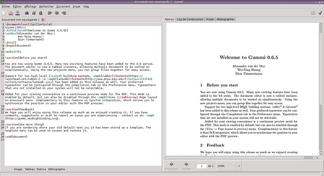 writing papers in latex