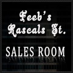 Feeb's Rascals Sales Room