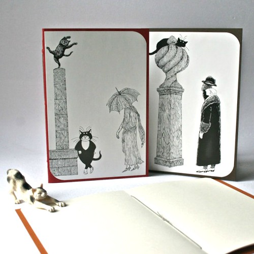 cat-themed-blank-book-set