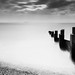 Milford-On-Sea B+W Groyne