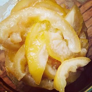 Citron confit au micro-ondes