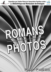 Affiche Expo romans photos mars 2014