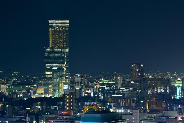 Abeno Harukasu night (あべのハルカス)