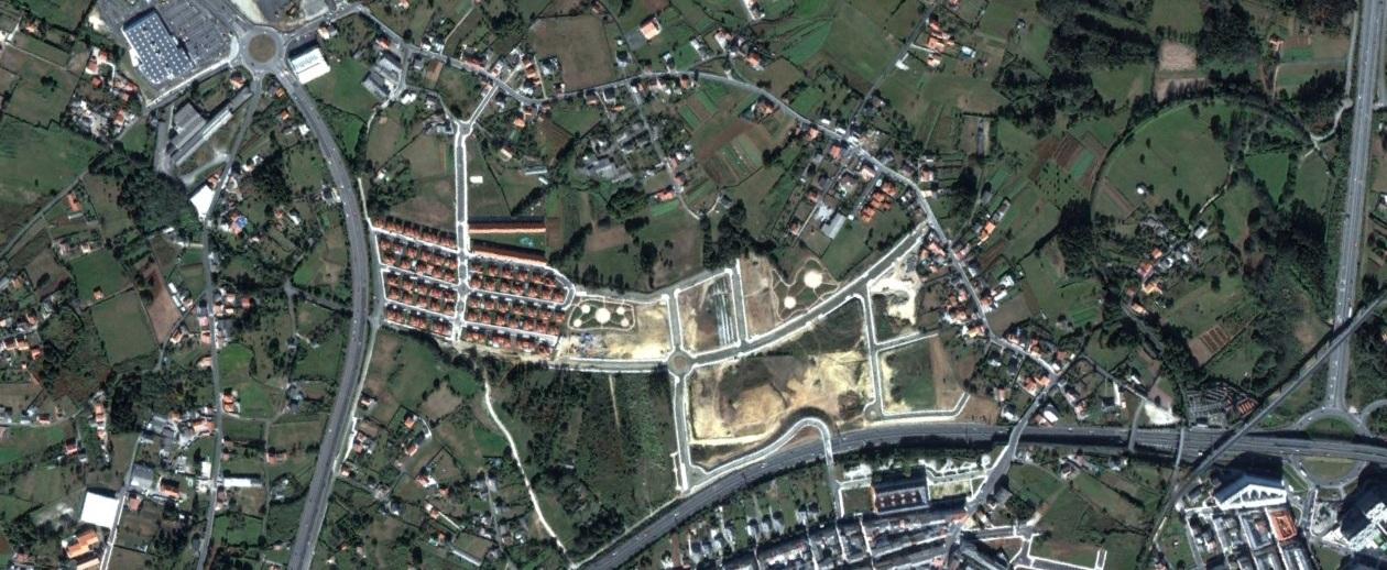 después, urbanismo, foto aérea,desastre, urbanístico, planeamiento, urbano, construcción,O Vinculeiro, A Coruña