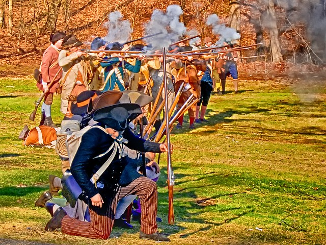 Patriot's Day Reenactment @ Tower Park