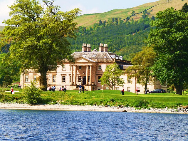 Rossdhu Mansion, Clan Colquhoun, Loch Lomond, Scotland