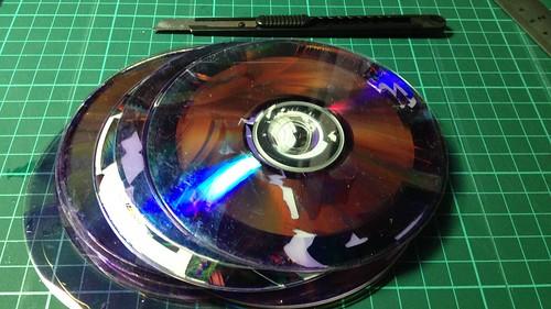 美工刀DVD破壞術