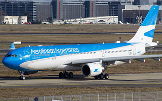 F-WWKQ // LV-FVH Aerolineas Argentinas Airbus A330-202 - cn 1605