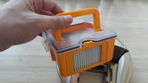 กล่องเก็บฝุ่นความจุ 0.6 ลิตร ของหุ่นดูดฝุ่น Hyasong VR-101