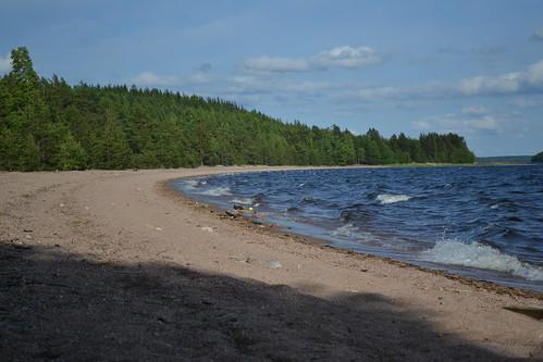 summer lake beach june finland geotagged es fin taipalsaari saimaa 2011 eteläsavo 201106 eteläkarjala kattelussaari 20110622 päihäniemi geo:lat=6117132700 geo:lon=2836901700 satamahiekka rv111