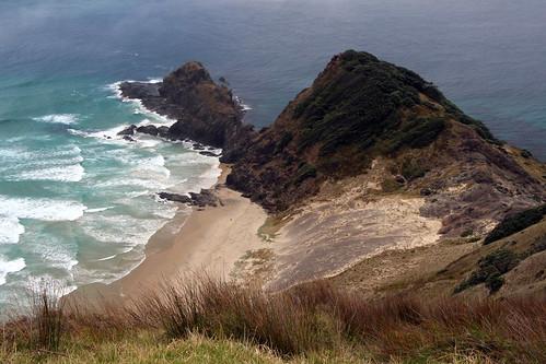sea newzealand holiday nature capereinga 2014