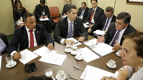Reunião de Líderes da Base.